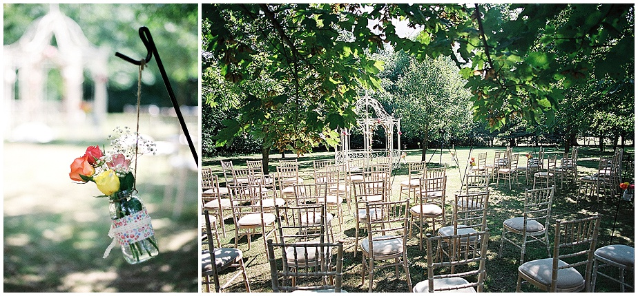 Buckettsland farm wedding