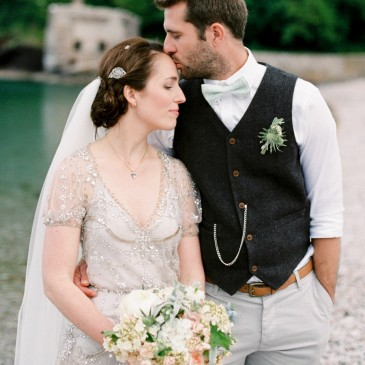 Melissa and Sam's Spring Wedding at Lupton House, Devon