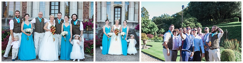 Mount Edgecumbe wedding