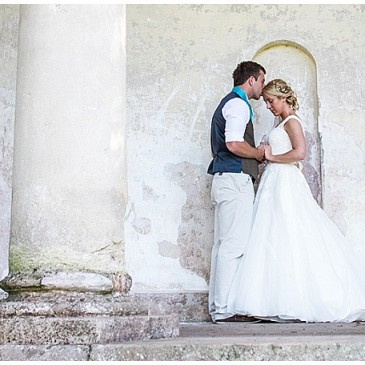 Anja and James' Wedding at Mount Edgecumbe in Cornwall