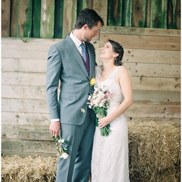 Sam and Dan's Wedding at East Soar Outdoor Experience, Devon