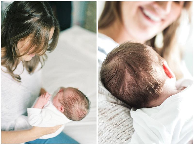 new born shoot- Devon
